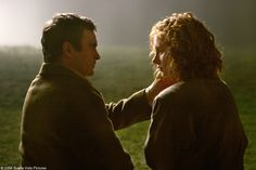 Beautiful scene from The Village:              Lucius (JoaquinPhoenix)                                and                                                            Ivy (Bryce Dallas Howard)