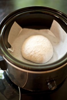 Easy Bread Baking In A Crock Pot. Great for summer baking - no kitchen oven heat!
