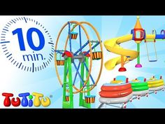 TuTiTu Specials | Trampoline | And Other Energy - Burning Toys | 1 HOUR Special - YouTube