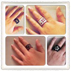 There are more rings looks amazing! Bead Weaving, Tutorials, Beads, Amazing, Rings, Jewelry, Beading, Jewlery, Jewerly