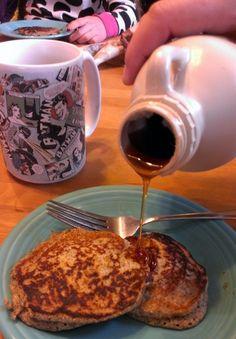 Buckwheat Pancake Recipe - with Almond flour and buttermilk