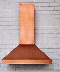 Custom Modern Hood Copper Vent Range Hoods Kitchen