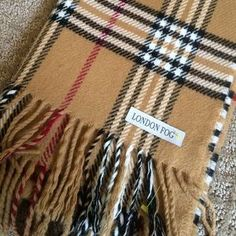 I just discovered this while shopping on Poshmark: London Fog wool scarf. Check it out!  Size: L