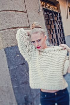 "Other – ""Nolita Sweater"" knitting kit – a unique product by weareknitters on DaWanda"
