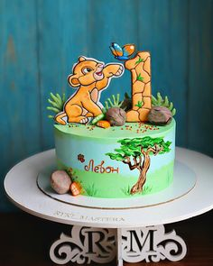 Combined Birthday Parties, First Birthday Party Themes, Safari Birthday Party, Baby Boy 1st Birthday, Lion King Theme, Lion King Party, Lion King Cakes, Lion King Birthday, Lion King Baby Shower