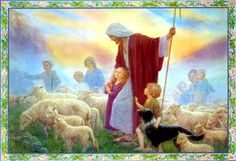 ... The Good Shepherd 4 Margaret Tarrant | by Waiting For The Word