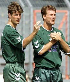 Michael and Brian Laudrup are considered the greatest Danish football players in history.Brian won the Danish footballer of the year award a record four times, and Michael was officially named the best Danish footballer of all time in 2006