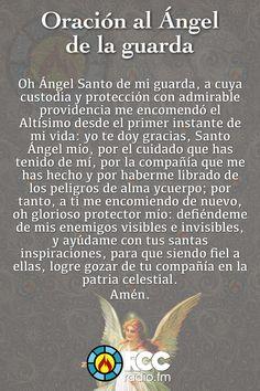 oración Angel de la Guarda