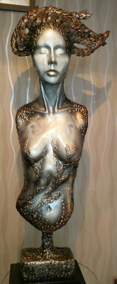 """Serenity"" epoxy putty sculpture 2015"