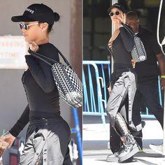 Rihanna Spotted At MSG Wearing Fenty x Puma