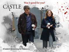 I want to get a handshake from Richard Castle. Swoon...