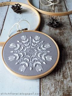 Hudson saved to for the homeSchneeflocke Mandala: Winter inspiriert Stickerei Fr.- Hudson saved to for the homeSchneeflocke Mandala: Winter inspiriert Stickerei Fr… Hudson saved to for the homeSchneeflocke Mandala: Winter… - Hardanger Embroidery, Hand Embroidery Stitches, Embroidery Hoop Art, Hand Embroidery Designs, Vintage Embroidery, Embroidery Techniques, Cross Stitch Embroidery, Machine Embroidery, Embroidery Ideas