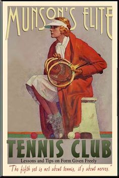 #Tennis Personalized #Vintage Sign #illustration  Posted on simply-sublime.com