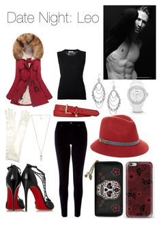 Date Night: Leo by thecydneypetersen on Polyvore featuring polyvore, fashion, style, Nina Ricci, Monsoon, Christian Louboutin, Amber Sceats, FOSSIL, LowLuv, Genie by Eugenia Kim, John Lewis, Lauren Ralph Lauren, ADAM and clothing