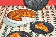 Wochenmarkt: Aprikosenkuchen mit Lavendel