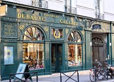Oldest chocolate store in Paris from The Good Life France
