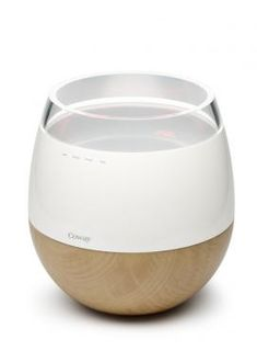 Hwaro   A heating humidifier combined with an air purifier.   Designer Team: Hun-jung Choi and Sung-wook Jung of Woongjin Coway Co. Ltd. (South Korea)   IDEA Gold 2010   IDSA