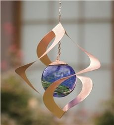 Hanging Solar Spiral Spinner