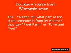 Yes! We used to have Fleet Farm, but after we moved we have Farm and Fleet, which I usually call Fleet Farm. :P