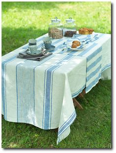 Blue Linen From Linen Me on Ebay