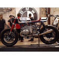 @speed_deluxe on display at the @handbuiltshow. Behold the #R86Special ⚡ - @iam_lgd / @godspeedco #Bmw #R100 #R90 #R80 #R75 #R60 #R50 #R65 #R45 #R69 #Motorrad #Motorcycle