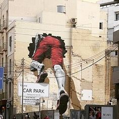 """MTO #murales #urbanart #graffiti #streetart #stencil #murales sliema malta"" Photo taken by @streetcnina on Instagram."