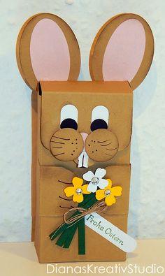 Schönes aus Papier Stampin Up Verpackung Ostern Hase