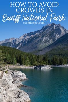 Your trip to the Canadian Rockies and Banff National Park can feel like a private tour. These five tips to avoid crowds in Banff will ensure you come home with beautiful photos and amazing memories! Whistler, Places To Travel, Places To Go, Travel Destinations, Alberta Travel, Canada Summer, Road Trip, Canada Travel, Canada Trip