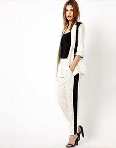 Y.A.S Amaze Trousers in Monochrome