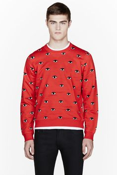 KENZO Red Eye print sweatshirt