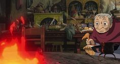 howl's moving castle interior dirty - Google Search