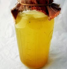 Turmeric Lime Soda | It Takes Time - Good, slightly sparking, sweeter than water kefir (so beware sugar); easily adaptable to include ginger and any kind of juice; I cut back on the sugar a little for the next batch.