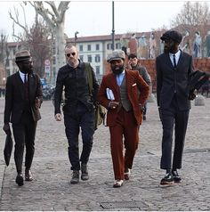 artcomesfirst:  Travellings // Pitti Journeys // Amongst brothers  (Avec Ces Freres) - Photo NY Times
