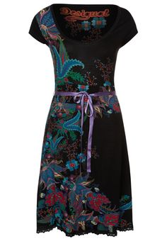 My dress for the spring 2013: Desigual - Jersey dress - black