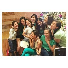 This is Miles Ocampo, Julia Montes, Sharlene San Pedro, and the rest of the Goin' Bulilit graduates who are grown-up girls sharing a laugh during the Reunion and Christmas Party of the original cast and alumni of Goin' Bulilit at Direk Edgar Mortiz's house in Quezon City last December 2014. Indeed, these grown-up girls are another of my favourite Kapamilyas, Star Magic talents, and Goin' Bulilit alumnae. #MilesOcampo #JuliaMontes #SharleneSanPedro #GoinBulilit #GoinBulilitGraduates