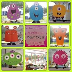 Fensterdekoration # - Back To School Space Classroom, Classroom Themes, Monster Classroom, Monster Baby Showers, Class Dojo, Diy And Crafts, Arts And Crafts, Fall Projects, Teacher Hacks