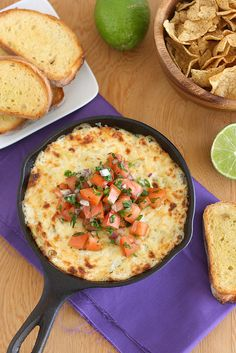 Asiago Crab & Artichoke Dip by @Tracey Wilhelmsen (Tracey's Culinary Adventures)