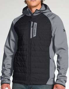 Under Armour Men's UA Storm ColdGear® Infrared Werewolf Jacket Large Steel Under Armour ++ You can get best price to buy this with big discount just for you. Adidas Fashion, Golf Fashion, Mens Fashion, Mens Ski Wear, Armor Clothing, Snowboarding Outfit, Snow Outfit, Outdoor Men, Golf Wear
