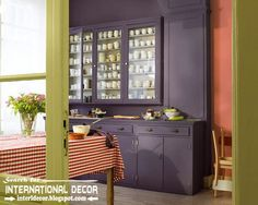 Purple and Brown Color Scheme | best color combinations and color schemes in the interior 2015, purple ...