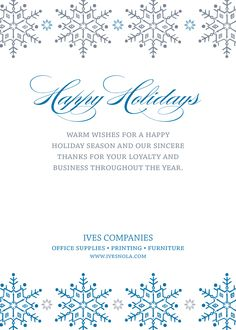 50 best corporate holiday cards images on pinterest christmas e corporate holiday card design by ives office supply printing furniture card designs office m4hsunfo