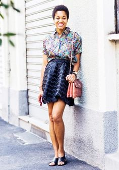 Flats or Heels? The Surprising Way French Girls Decide via @WhoWhatWear