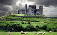 O Castelo de Cashel foi residência dos reis Munster durante 7 séculos, antes da invasão da Normandia.