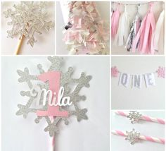 Winter Onederland Party in a Box Winter by OhhHowCharming on Etsy