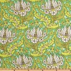 54'' Wide Amy Butler Home Decor Soul Blossoms Twill Joy Temple Tulips Emerald Fabric By The Yard by Westminster, http://www.amazon.com/dp/B004GV6XWI/ref=cm_sw_r_pi_dp_QyUhrb13HFCGA