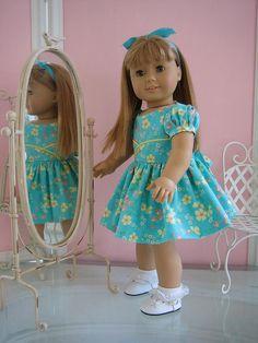 18 inch American Girl Doll Dressy Dress
