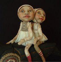 ~ Musings of an Artist: Jo James - Unique Dolls