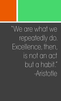 Forming Habits