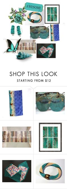 """""""Amazing Gifts on Etsy"""" by anna-recycle ❤ liked on Polyvore featuring modern, rustic and vintage"""