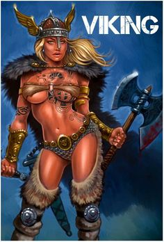 Viking women | ... cool fight scenes and good lookin viking women still waiting on this