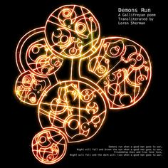 A good man goes to war in Gallifreyan
